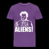 T-Shirts ~ Men's Premium T-Shirt ~ Giorgio Tsoukalos ALIENS!