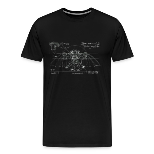 Bioshock Infinite Songbird Schematic - Men's Premium T-Shirt