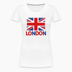 LONDON Women's Fitted Classic T-shirt