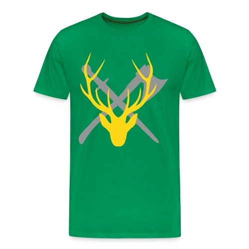 Outlands - Stag's Blood 3X - Men's Premium T-Shirt