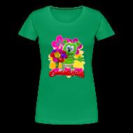 Women's T-Shirts ~ Women's Premium T-Shirt ~ Gummibär Flowers Women's T-