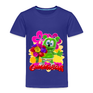 Baby & Toddler Shirts ~ Toddler Premium T-Shirt ~ Gummibär Flowers Toddler's T-