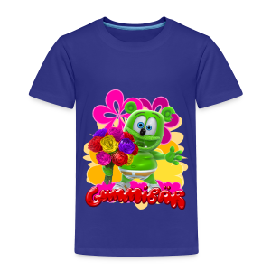 Gummibär (The Gummy Bear) Flowers Toddler's T- - Toddler Premium T-Shirt