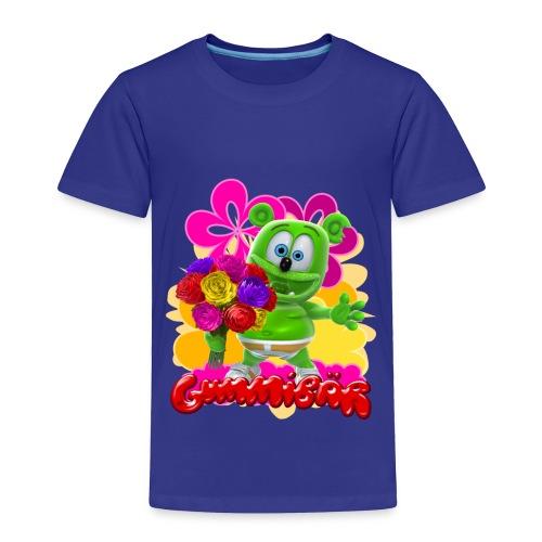 Gummibär (The Gummy Bear) Flowers Toddler's T- - Toddler Premium T-Shirt