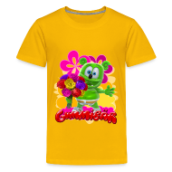 Kids' Shirts ~ Kids' Premium T-Shirt ~ Gummibär Flowers Kid's T-