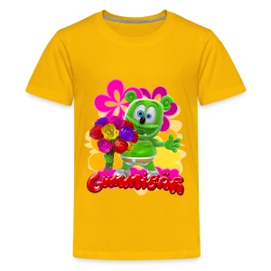 Gummibär (The Gummy Bear) Flowers Kid's T- - Kids' Premium T-Shirt