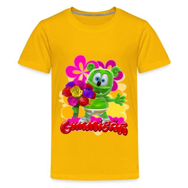 Gummibär (The Gummy Bear) Flowers Kid's T-