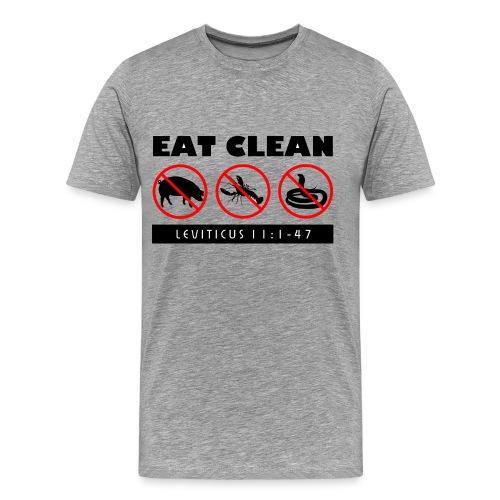 Eat Clean - Men's Premium T-Shirt