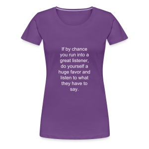Thought # 274 - Women's Premium T-Shirt