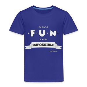 Toddler Impossible - Toddler Premium T-Shirt