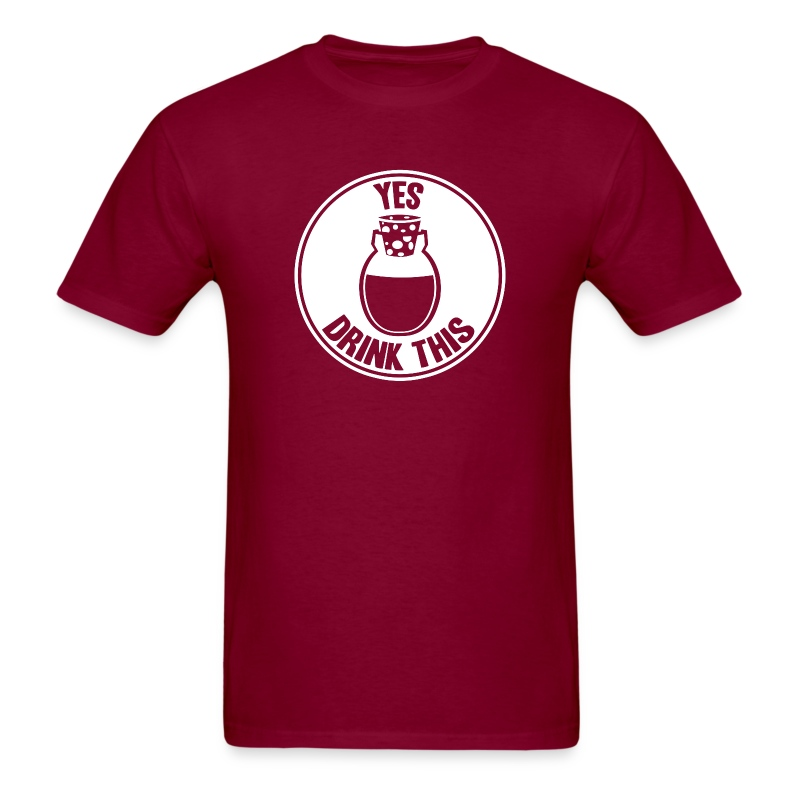 Yes, Drink This! - Men's T-Shirt