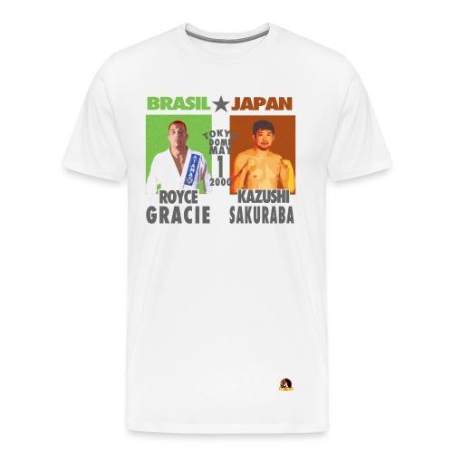 Royce Gracie Vs Kazushi Sakuraba - Men's Premium T-Shirt