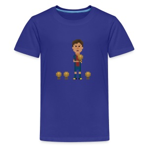 Kids T-Shirt - Four golden balls - Kids' Premium T-Shirt