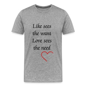 Love ConquersAll - Men's Premium T-Shirt