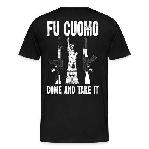 FU Cuomo, Liberty Edition, Super Sized - Men's Premium T-Shirt