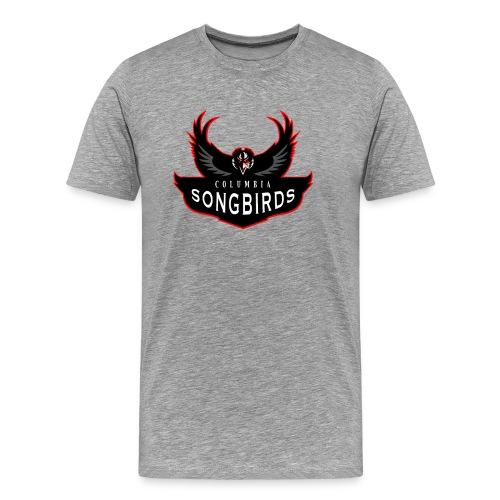 Bioshock Infinite Columbia Songbirds Team Logo - Men's Premium T-Shirt