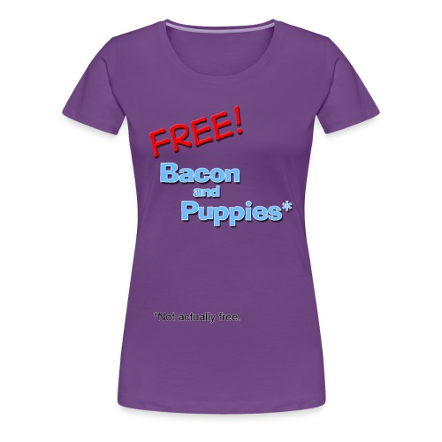 FreBAP Not Free Womens Tee - Women's Premium T-Shirt