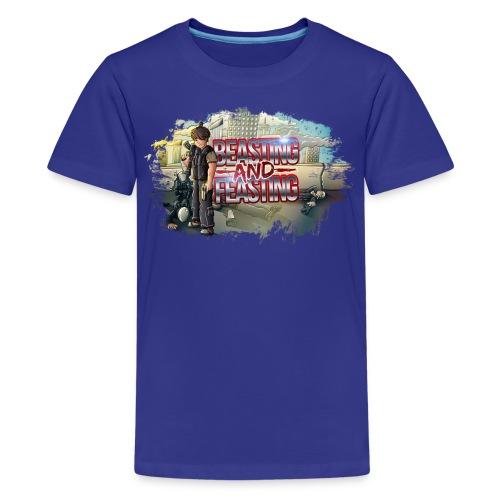 Beasting & Feasting Kids (M)  - Kids' Premium T-Shirt
