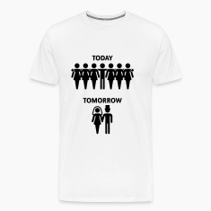 Today - Tomorrow (Stag Night / Bachelor Party) T-Shirts