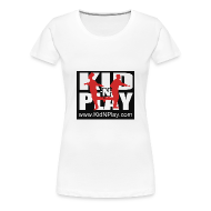 T-Shirts ~ Women's Premium T-Shirt ~ Kid N Play