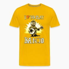 I love to play banjo T-Shirts