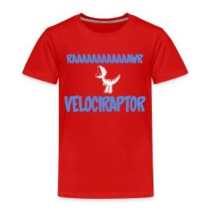 Toddler Red Doubleclicks Tshirt - Toddler Premium T-Shirt