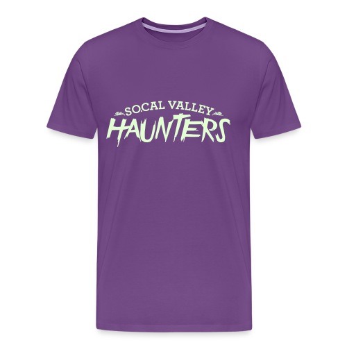 SoCal Valley Haunters Unisex Glow in the Dark Tee - Men's Premium T-Shirt