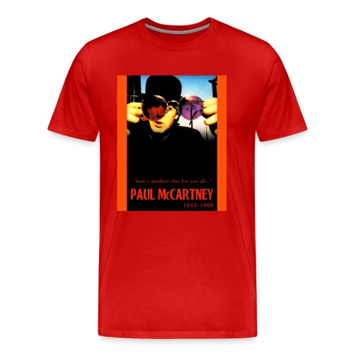 The Faul of Paul - T-Shirt - Men's Premium T-Shirt