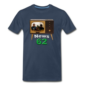 News 62 Tv shirt - Men's Premium T-Shirt