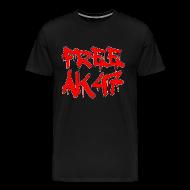 T-Shirts ~ Men's Premium T-Shirt ~ Free AK47 3XL/4XL T-Shirt