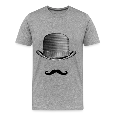 Mustache and Hat T-Shirts