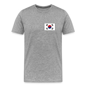 South Korea Flag T-Shirt - Men's Premium T-Shirt