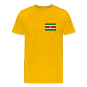 Suriname Flag T-Shirt - Men's Premium T-Shirt