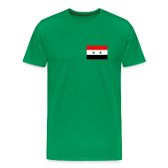 T-Shirts ~ Men's Premium T-Shirt ~ Syria Flag T-Shirt