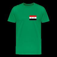 T-Shirts ~ Men's Premium T-Shirt ~ Syria Flag T-Shirt