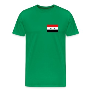 Syria Flag T-Shirt - Men's Premium T-Shirt