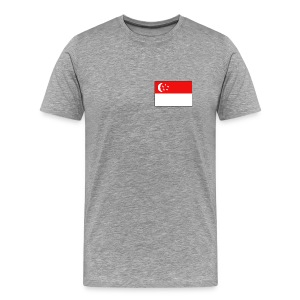 Singapore Flag T-Shirt - Men's Premium T-Shirt