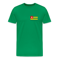 T-Shirts ~ Men's Premium T-Shirt ~ Togo Flag T-Shirt