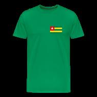 T-Shirts ~ Men's Premium T-Shirt ~ Togo Flag T-Shirt