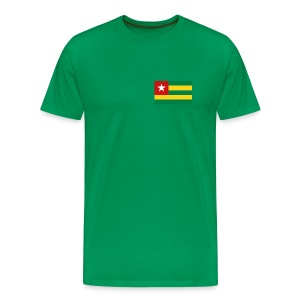 Togo Flag T-Shirt - Men's Premium T-Shirt