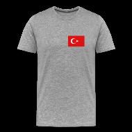 T-Shirts ~ Men's Premium T-Shirt ~ Turkey Flag T-Shirt