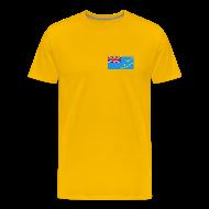 T-Shirts ~ Men's Premium T-Shirt ~ Tuvalu Flag T-Shirt