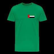 T-Shirts ~ Men's Premium T-Shirt ~ United Arab Emirates Flag T-Shirt