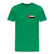 T-Shirts ~ Men's Premium T-Shirt ~ United Arab Emirates Flag T-Shirt