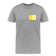 T-Shirts ~ Men's Premium T-Shirt ~ Vatican City Flag T-Shirt