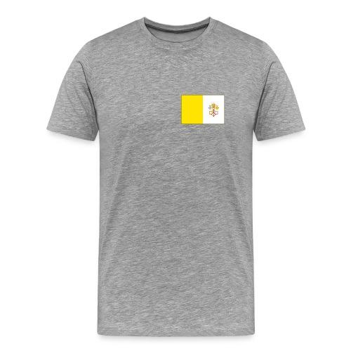 Vatican City Flag T-Shirt - Men's Premium T-Shirt