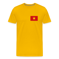 T-Shirts ~ Men's Premium T-Shirt ~ Vietnam Flag T-Shirt
