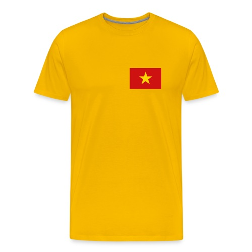Vietnam Flag T-Shirt - Men's Premium T-Shirt