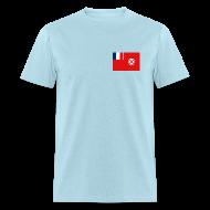 T-Shirts ~ Men's T-Shirt ~ Wallis and Futuna Flag T-Shirt