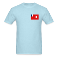 T-Shirts ~ Men's T-Shirt ~ Wallis and Futuna Flag T-Shirt